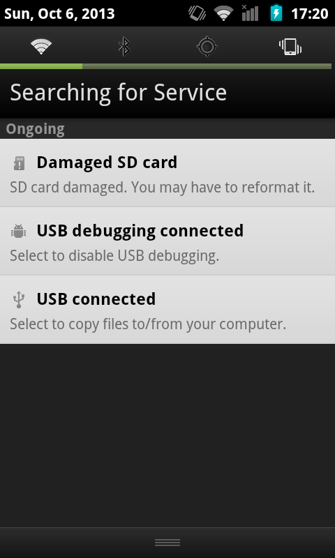Damaged SD Card