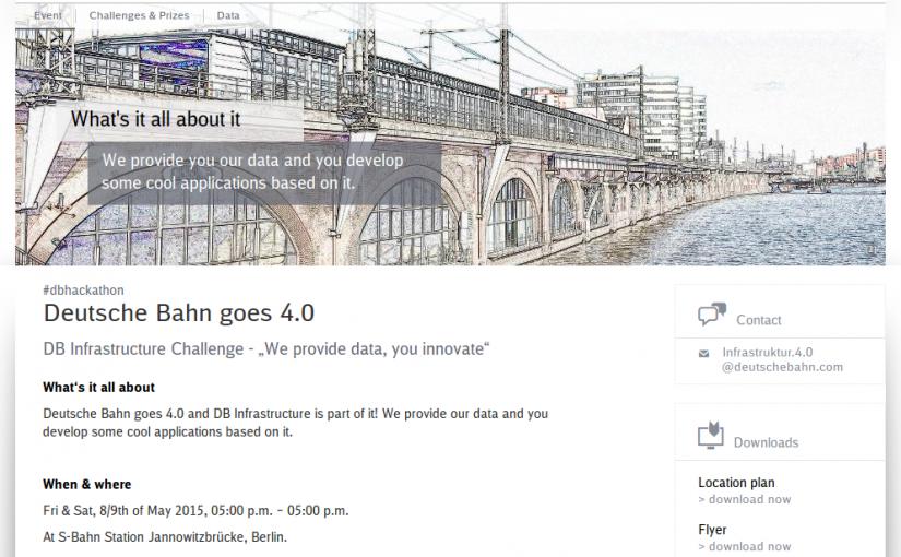 Hackathon 2: Deutsche Bahn