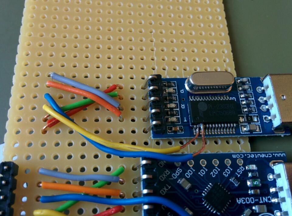Prolific PL2303HX (trace wires)