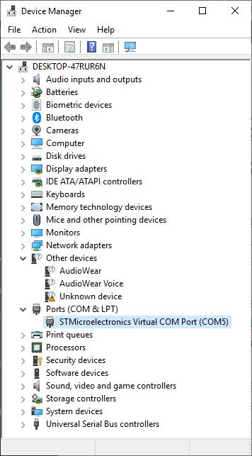 STM32 Virtual COM Port Issues – vilimblog